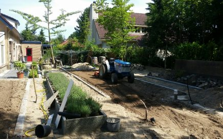 Aanleg & onderhoud tuinen
